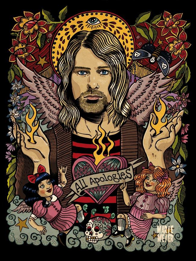 Kurt Cobain by Marie-oz