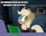 Commander Applejack by Hakar-Kerarmor