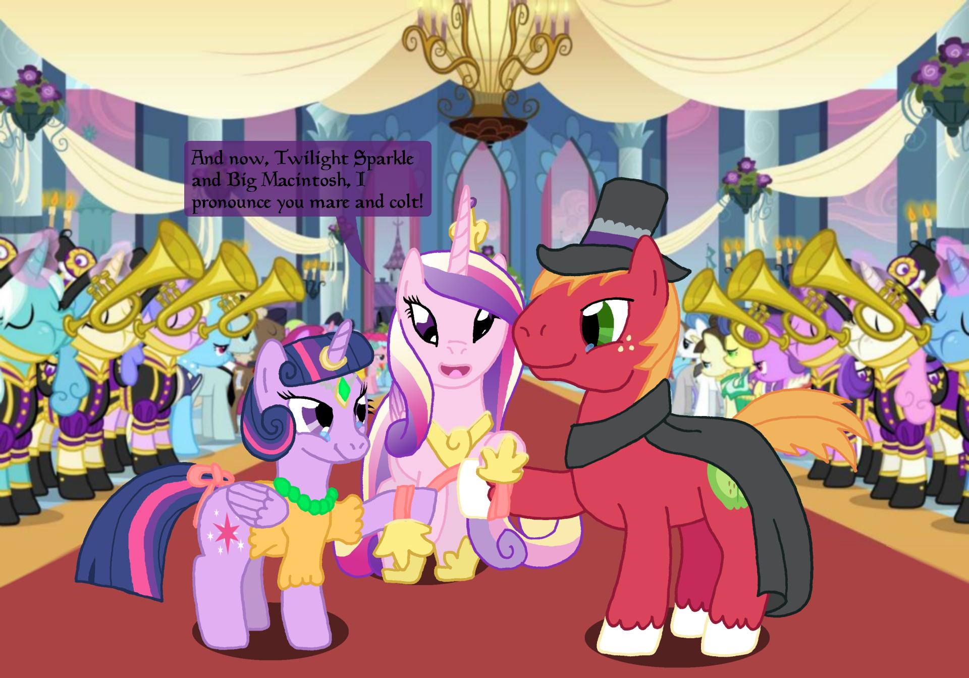 Twilight Marries Big Macintosh by Hakar-Kerarmor