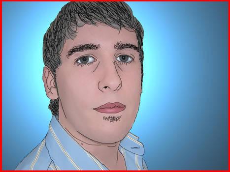 Drawn boy