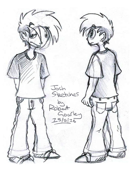 Some Josh Sketches by Gourlish