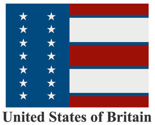United States of Britain flag by Gourlish