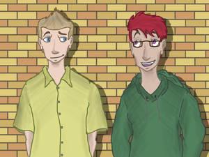 Josh and Angus together