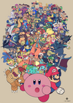 Smash , everyone is HEREEEEEEEEE