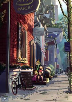 onett Street town