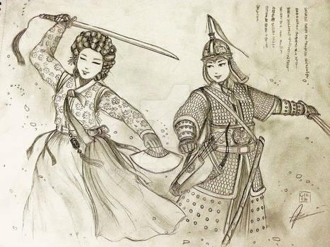 Hwang Sisters of Jima