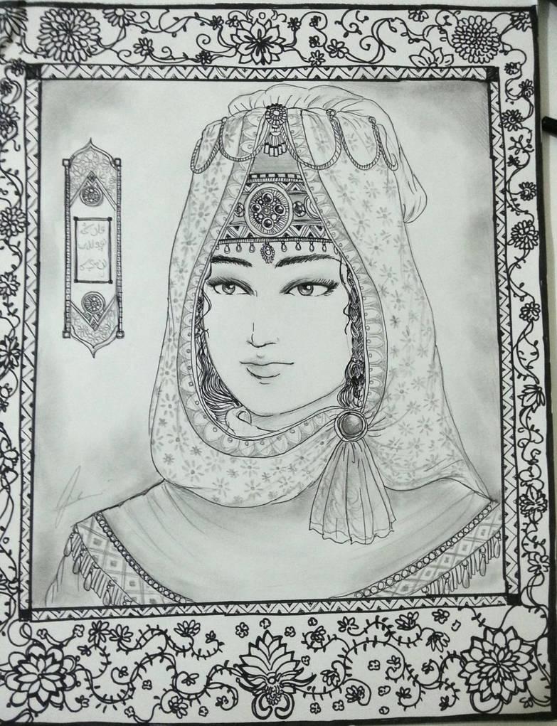 Princess Zobeydeh of Safavid Dynasty by Gambargin on DeviantArt