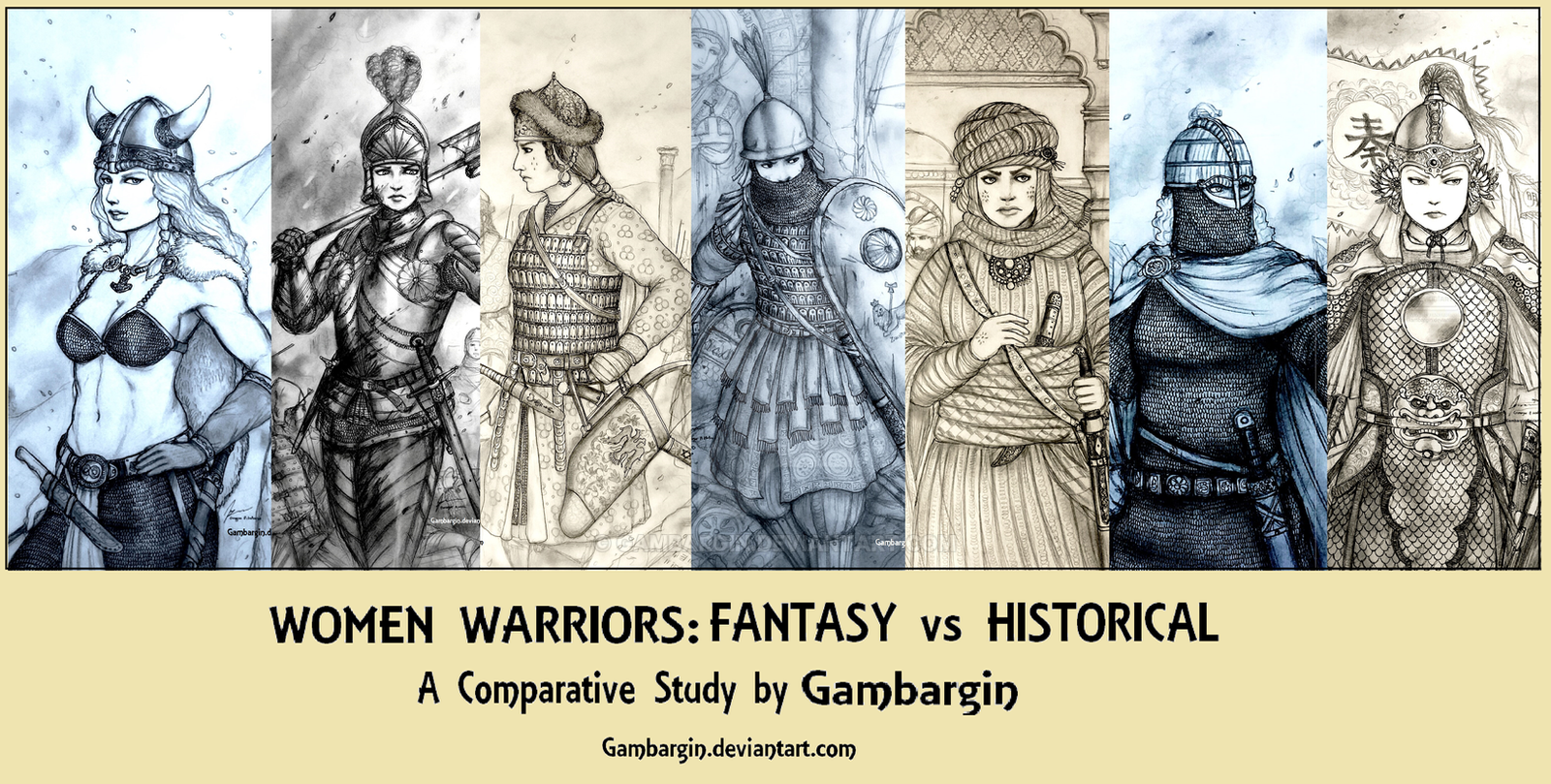 essay women warriors fantasy vs historical by gambargin
