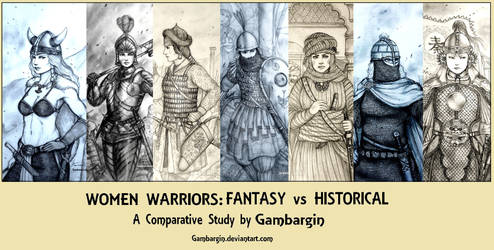 Essay - Women Warriors: Fantasy vs Historical