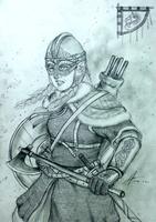 Gunhildr Freysdottir of the Nordic Kingdoms by Gambargin