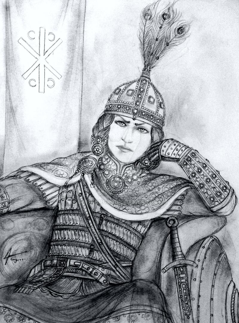 Basillisa Sotirisa Angelos of Rhomanion Empire by Gambargin