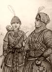 Women Warriors of Africa - Concept Drawing