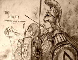 Historically Wrong Sketch Project - The Antiquity by Gambargin