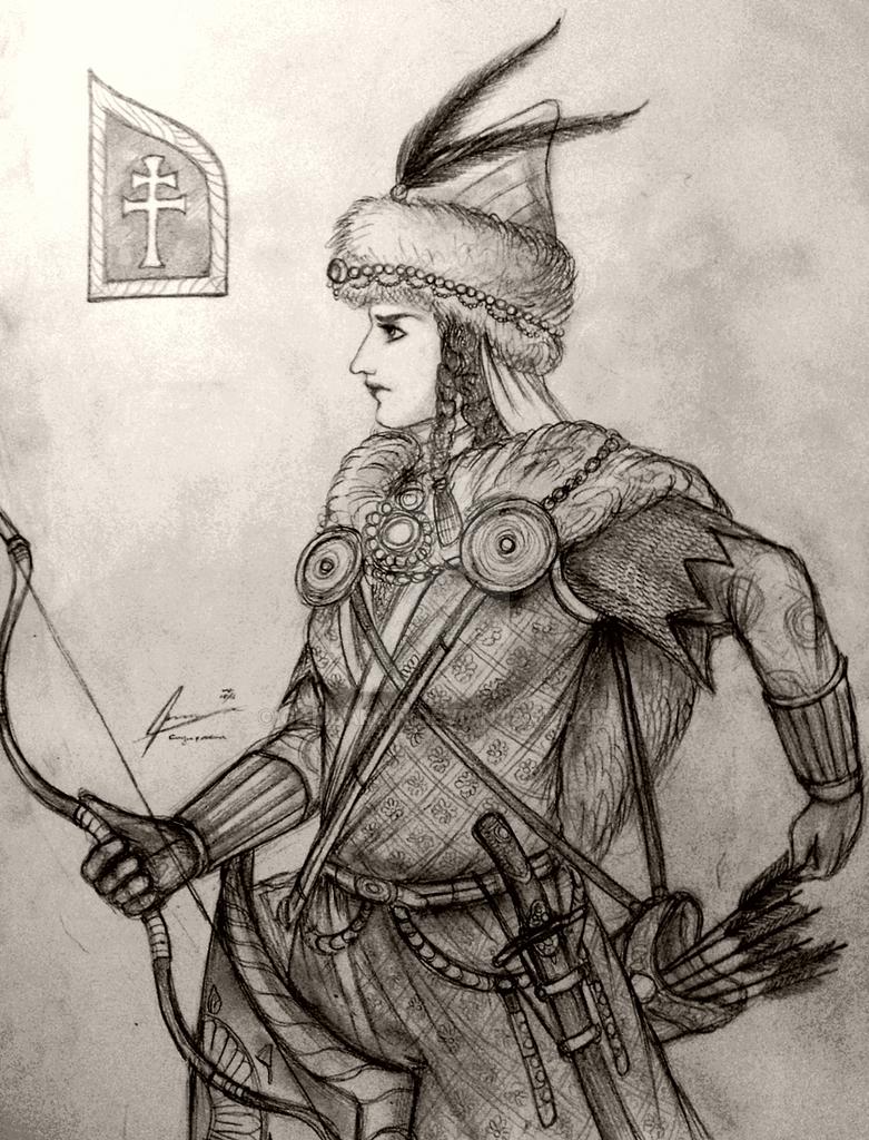Haraszti-hazi Orsolya of Kingdom of Carpathia by Gambargin