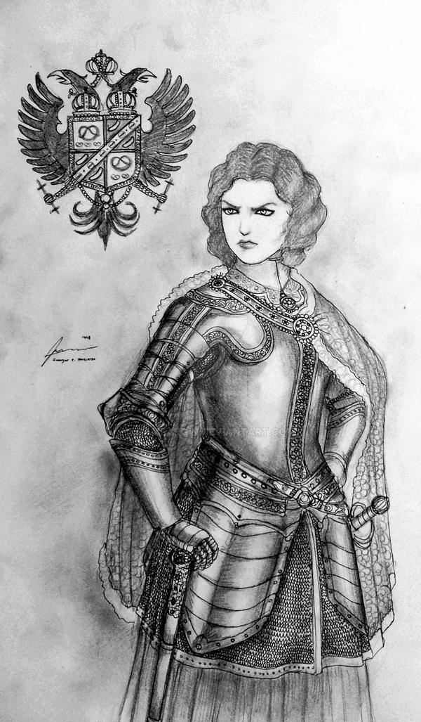 Erzherzogin Ilda Luitgard of Harzbergerreich by Gambargin