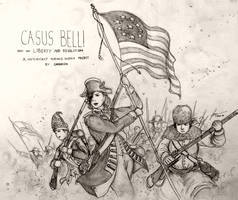 Historically Wrong Sketch Project: Casus Belli 1 by Gambargin