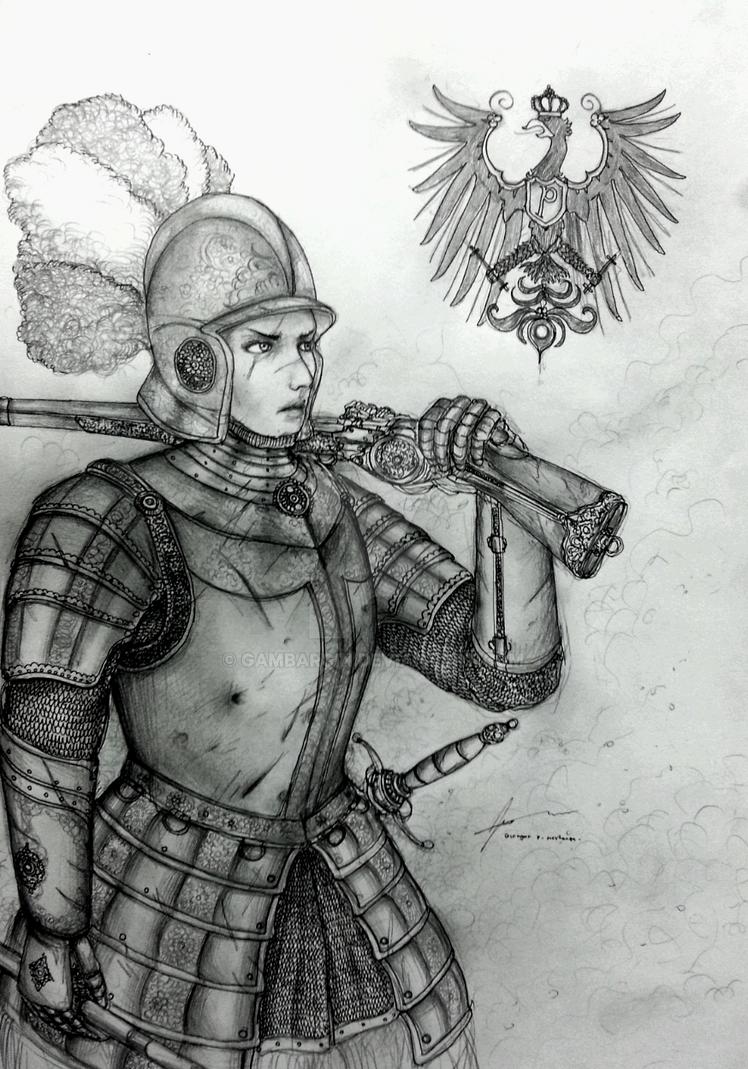 Kurfurstin Ilsa Amalia of Kurfurstentum Pomern by Gambargin