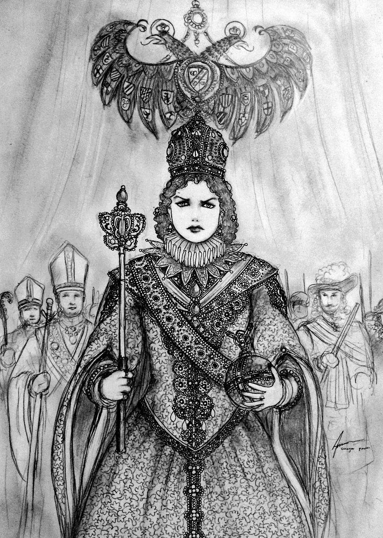 HWS Blood and Steel: Kaiserin Ilda von Harzberg by Gambargin