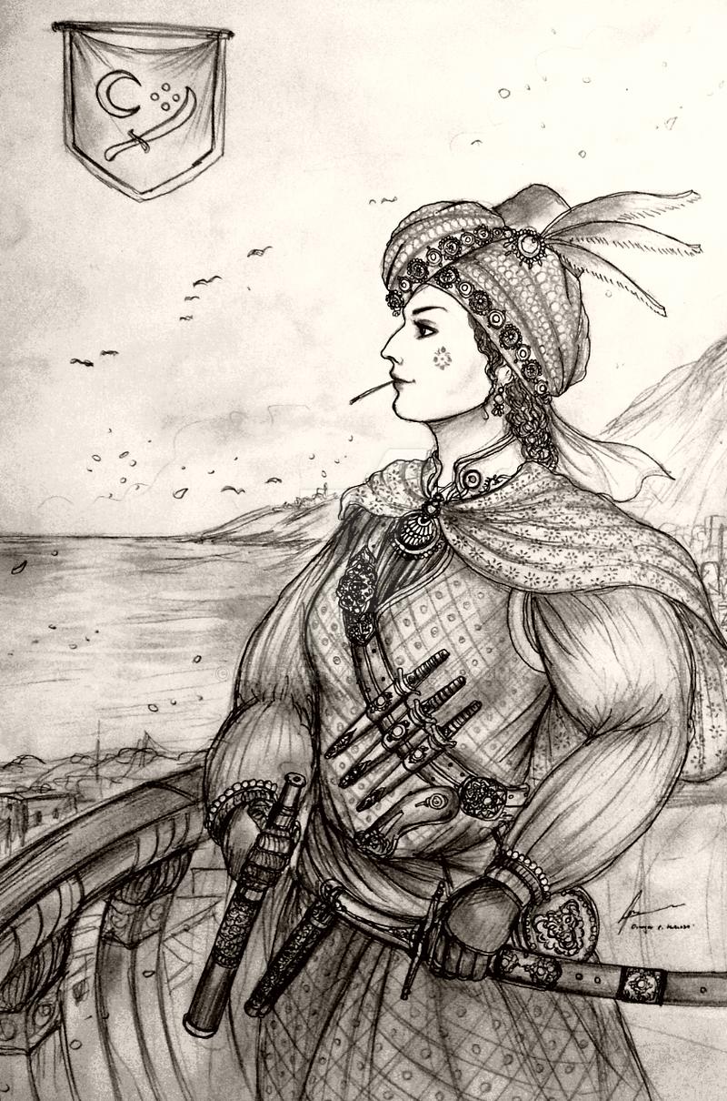 HWS Women Pirates - Canavar of Mediterranean Sea by Gambargin