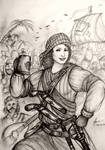 HWS Women Pirates - Dahlia of Caribbean Sea