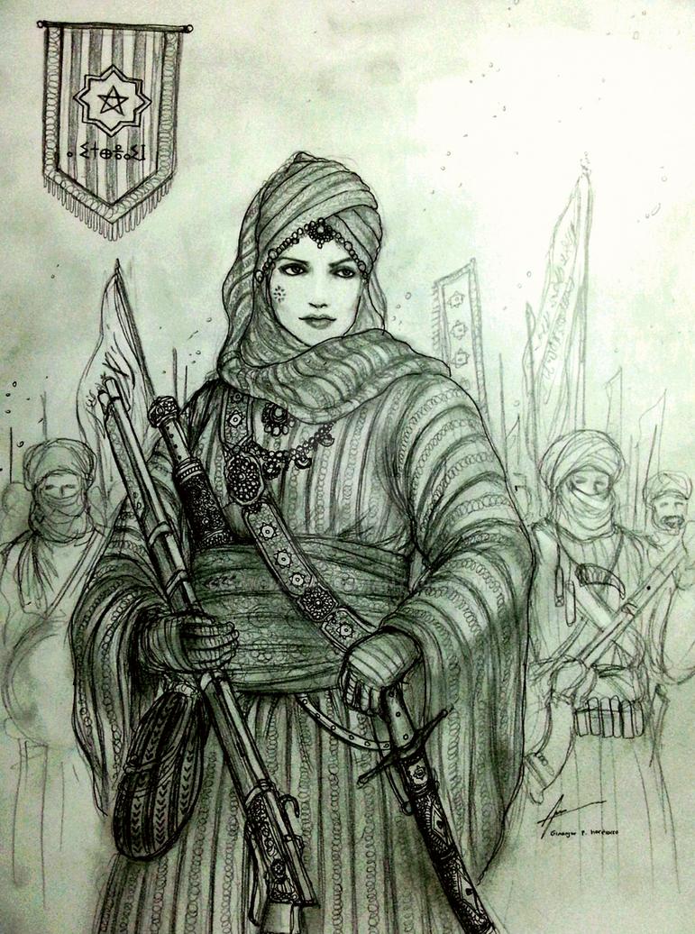Lalla Tanaszart of Al-Mamlakati Al-Murnakus by Gambargin