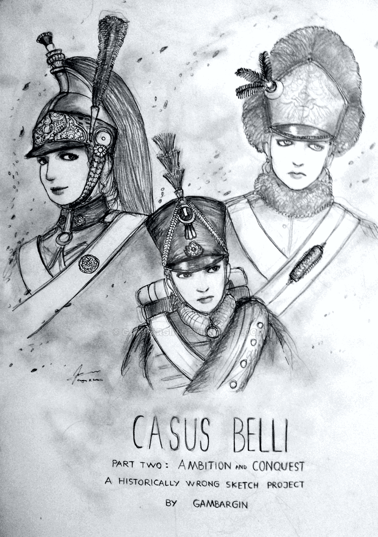 HWS Project Casus Belli - Ambition and Conquest by Gambargin