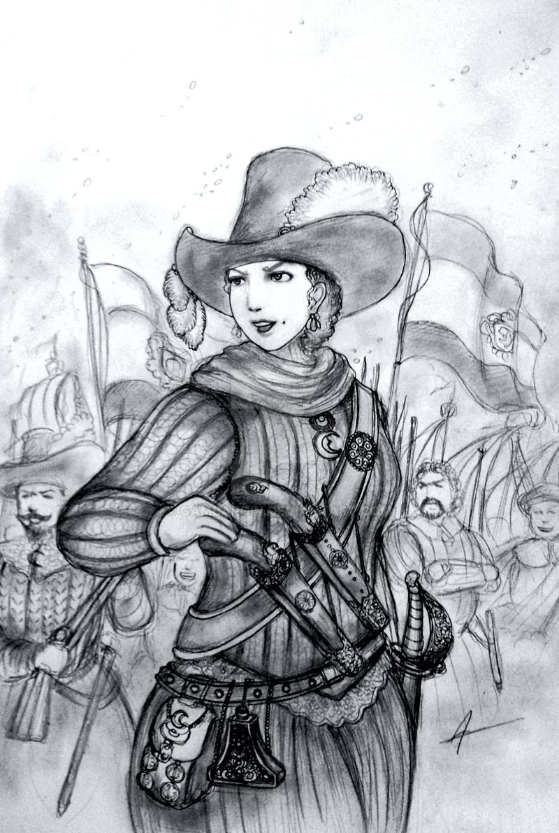HWS Women Pirates - Gerda the Sea-Beggar by Gambargin