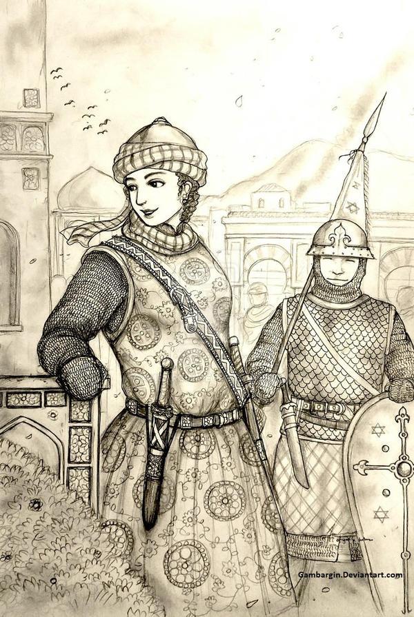 Saris Bat-Binyamin of Imarat Al-andalus (Jewish) by Gambargin