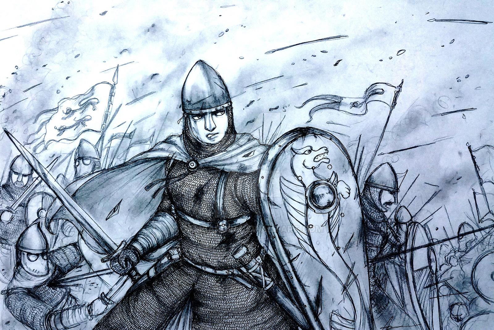 Aubrey de Manche of Duche de Normannus (Norman) by Gambargin