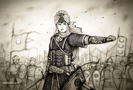 Sultana Ahu of Sultanat Misr Al-Sarraviyah (Egypt)