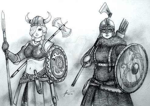Women Warriors: Horny Viking vs Historical Viking