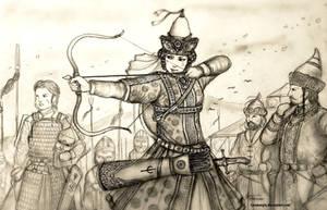 Lady Sevindik of Desht-i Yurtubi (Cuman-Kypchak)