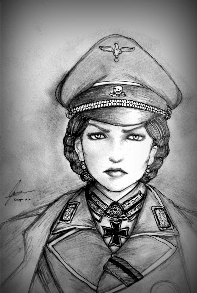 Altgrafin Ilda von Harzberg - Concept by Gambargin
