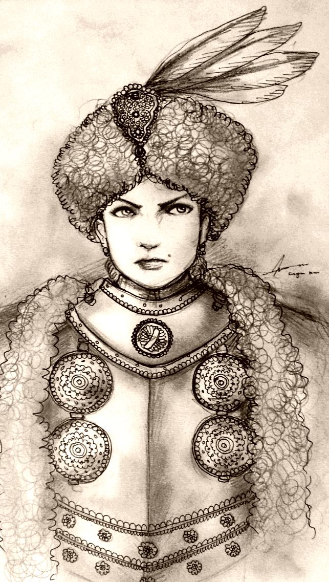 Jej Milosc Panna Eufrozyna Jerzywoska of Mazovia by Gambargin