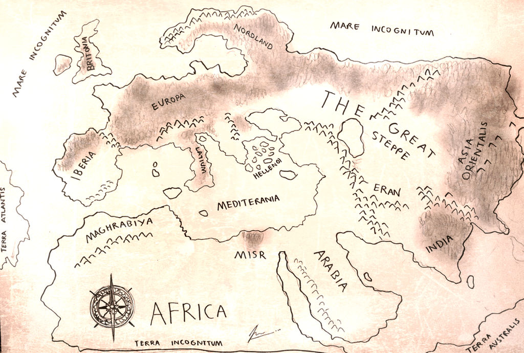 HWS Project Fantasia - The Epic Journey Map by Gambargin on DeviantArt