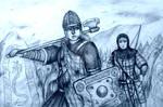 Deirdriu and Gwenhwyfar of Celtic Alliance (Celts)