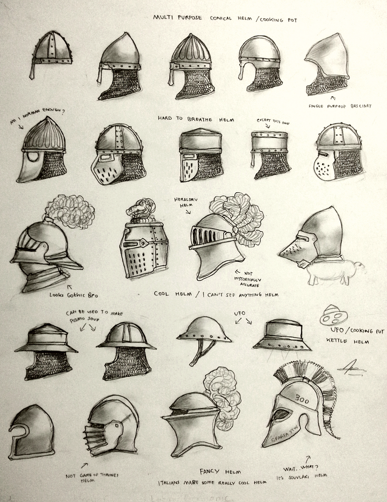 Project WARRGH Medieval European Helmet Part 1 By
