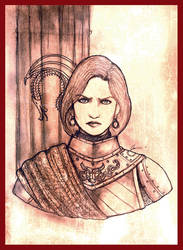 Lady Valeria of The Great House Dragonis by Gambargin