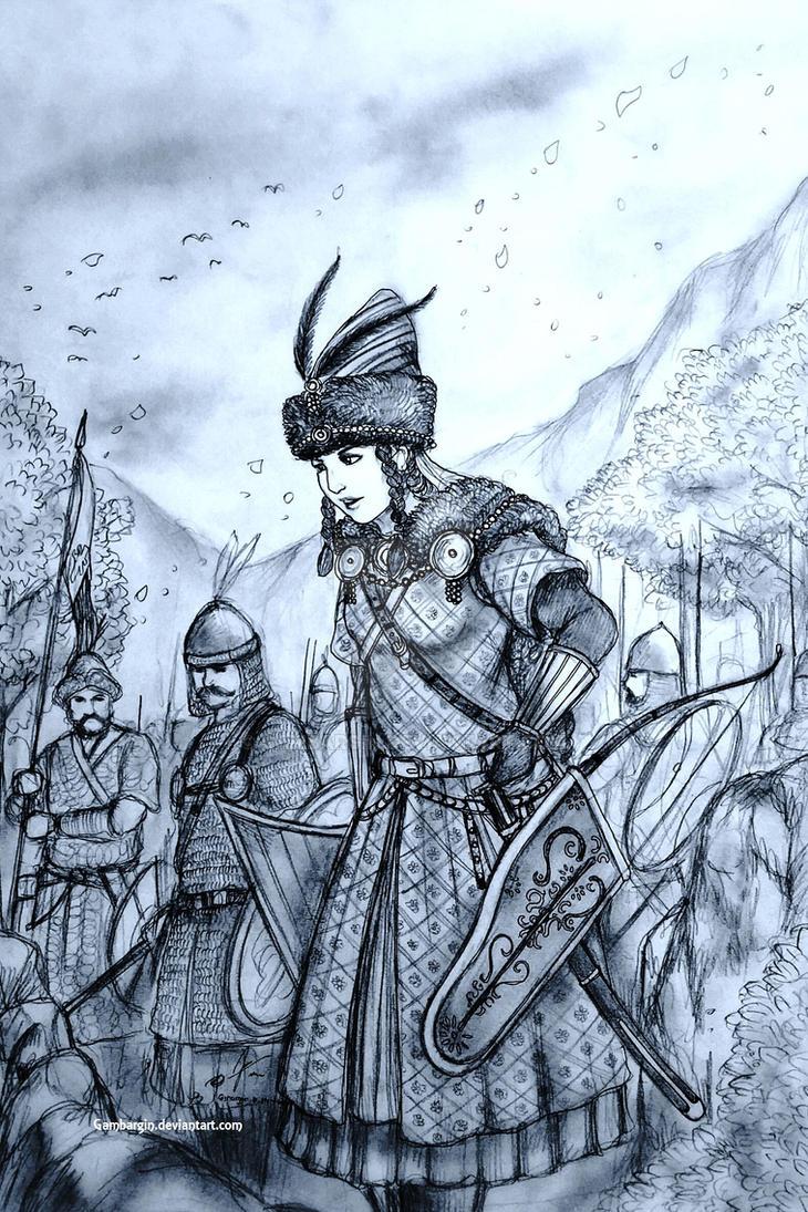 Haraszt-Hazi Orsolya of Karpati Kiralysag (Magyar) by Gambargin