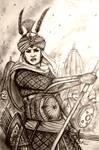 Maharani Indira of Jaganavanshi Raj (India/Rajput)