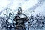 Aethelflaed of Mercia, 917 AD - Women War Queens