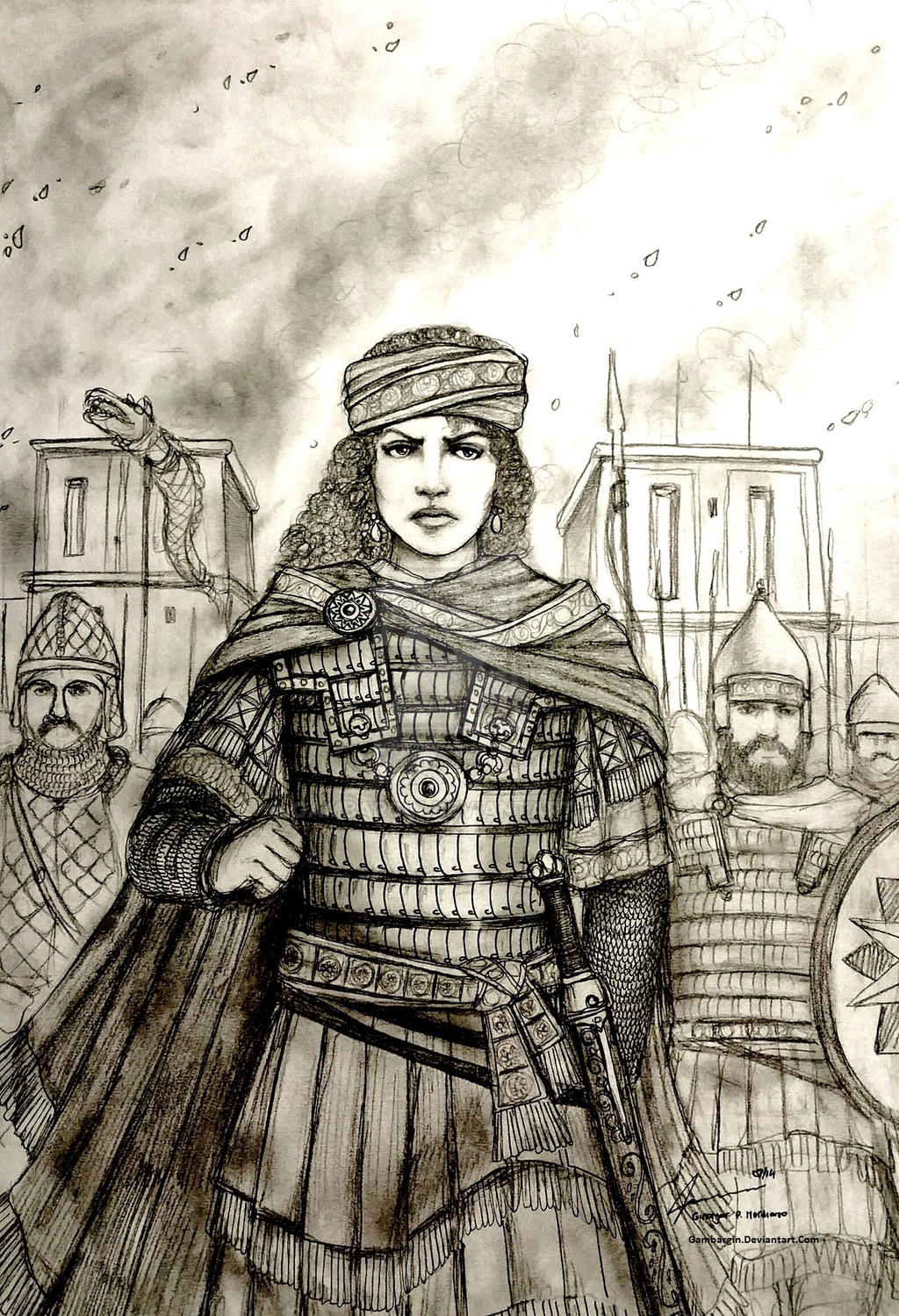 Zenobia of Palmyra, 273 AD - Women War Queens