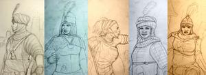 HWS: Medieval Rev. Women Warriors of Africa - WIP