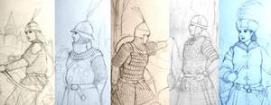 HWS: Medieval Women Warrior of Balkan Alliance WIP