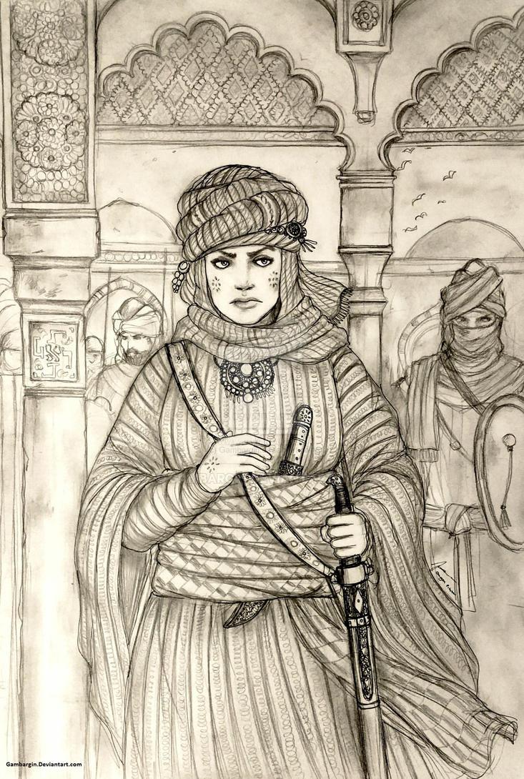 Lalla Zuhayra of Al-Mamlakati Al-Murnakus (Berber) by Gambargin