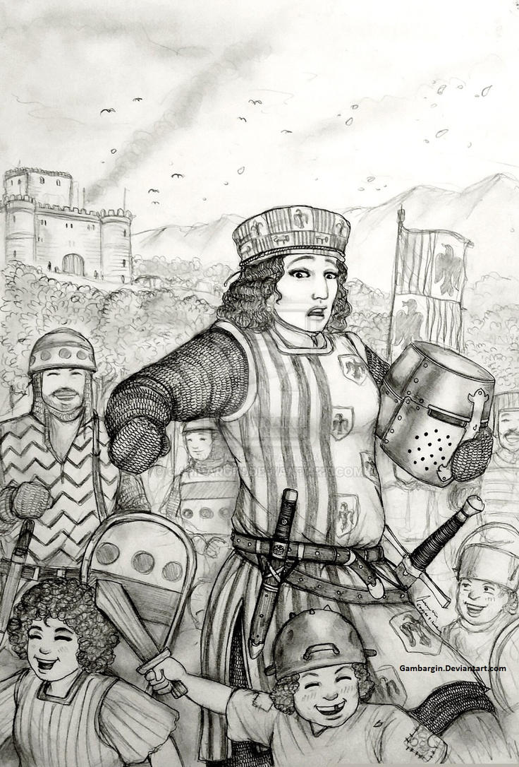 Infanta Urraca of Reino di Iberia (Basque/Spanish) by Gambargin