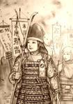Minamori no Ichiko of Hibangana Bakufu (Japanese) by Gambargin