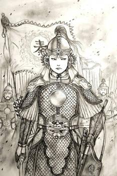 Qin Liangyu of Shizhu, 1620 AD - Women War Queens