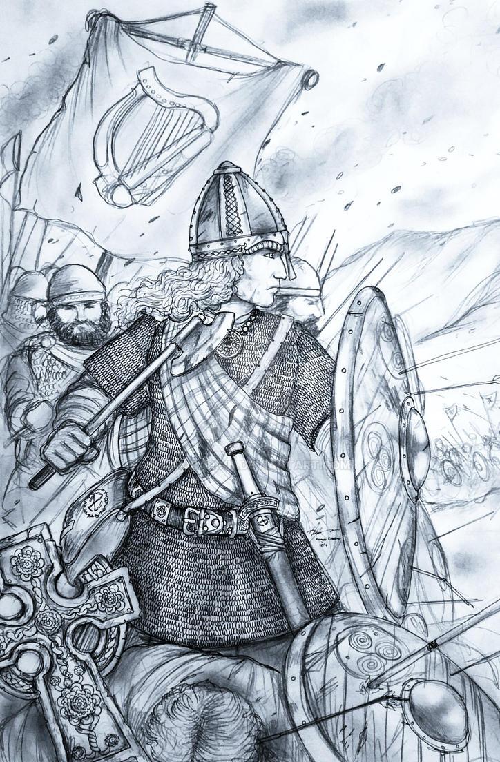 Deirdriu of Treibheanna na Eireann (Irish) by Gambargin