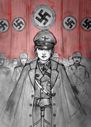 Altgrafin Ilda von Harzberg of Fuehrerreich by Gambargin
